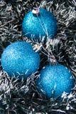 Bolas azules Imagenes de archivo