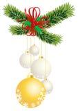 Bolas blancas y amarillas fotos de archivo libres de regalías