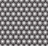 Bolas blancos y negros, flores inconsútiles, fondo del vector ilustración del vector