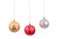 Bolas bonitas do Natal Imagens de Stock