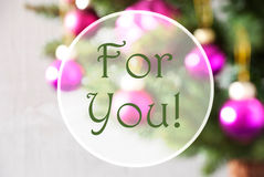 Bolas borrosas, Rose Quartz, texto para usted Fotografía de archivo libre de regalías
