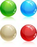 Bolas brillantes. stock de ilustración