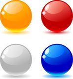 Bolas brillantes. Imagen de archivo libre de regalías