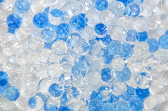 Bolas brillantes blancas y azules Imágenes de archivo libres de regalías