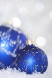 Bolas brillantes de la Navidad Imagen de archivo libre de regalías