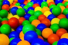 Bolas coloreadas imagenes de archivo