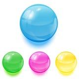 Bolas coloridas stock de ilustración