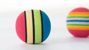 Bolas coloridas de la espuma Fotos de archivo
