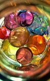 Bolas coloridas de la jalea Imagenes de archivo