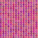 Bolas coloridas del modelo de círculos Imagen de archivo libre de regalías
