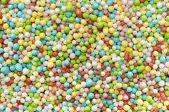 Bolas coloridas do açúcar Fotos de Stock