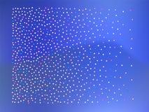 Bolas coloridas dos confetes, rendição ilustração stock