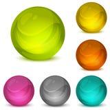 Bolas cristalinas Fotografía de archivo