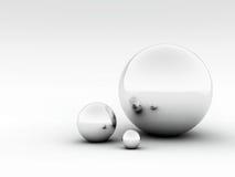 bolas 3D Imagenes de archivo