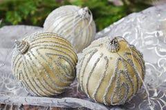 Bolas da árvore de Natal Imagem de Stock Royalty Free