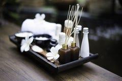 Bolas da compressa da massagem dos termas, bola erval e termas do tratamento Foto de Stock Royalty Free