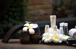 Bolas da compressa da massagem dos termas, bola erval e termas do tratamento, Tailândia Foto de Stock