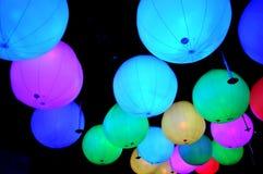 Bolas da luz da cor da mistura Imagem de Stock Royalty Free