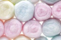 Bolas de algodón foto de archivo