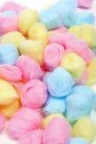 Bolas de algodón Fotos de archivo libres de regalías