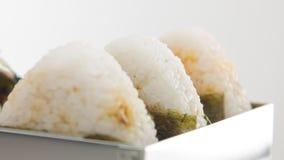 Bolas de arroz de Onigiri filme