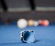 Bolas de bilhar/foto do estilo do vintage das bolas de bilhar dentro Imagens de Stock