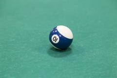 Bolas de billar sobre la tabla Imagen de archivo