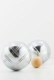 Bolas de Bocce Foto de archivo