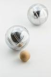 Bolas de Bocce Fotografía de archivo libre de regalías
