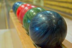 Bolas de boliches Fotos de Stock Royalty Free