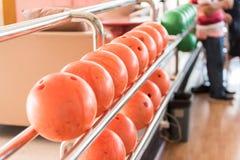 Bolas de boliches Fotos de Stock