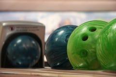 Bolas de bolos Imagen de archivo libre de regalías