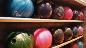 Bolas de bolos Fotografía de archivo libre de regalías