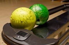 Bolas de bowling Imagens de Stock Royalty Free
