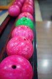 Bolas de bowling Foto de archivo libre de regalías