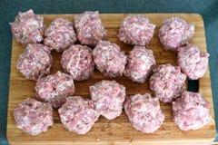 Bolas de carne Foto de Stock Royalty Free