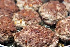Bolas de carne da carne Imagem de Stock Royalty Free