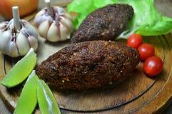 Bolas de carne fritadas do Oriente Médio imagem de stock royalty free