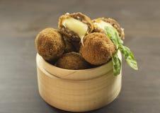 Bolas de carne fritas Foto de archivo libre de regalías