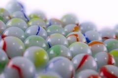Bolas de cerámica multicoloras Imagen de archivo libre de regalías