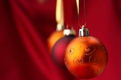 Bolas de Christmass Imágenes de archivo libres de regalías