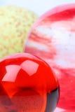 Bolas de cristal Imagens de Stock