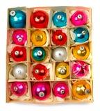 Bolas de Cristmas Imágenes de archivo libres de regalías