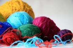 Bolas de cuerdas de rosca Fotografía de archivo libre de regalías
