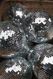 Bolas de discoteca Imágenes de archivo libres de regalías