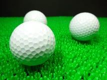 Bolas de golfe Imagem de Stock