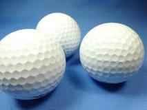 Bolas de golfe Fotografia de Stock