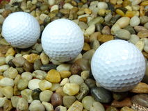 Bolas de golfe Fotos de Stock