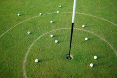 Bolas de golfe Fotos de Stock Royalty Free