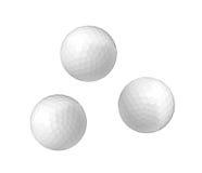 Bolas de golfe Fotografia de Stock Royalty Free